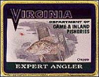 Expert Angler Award Patch