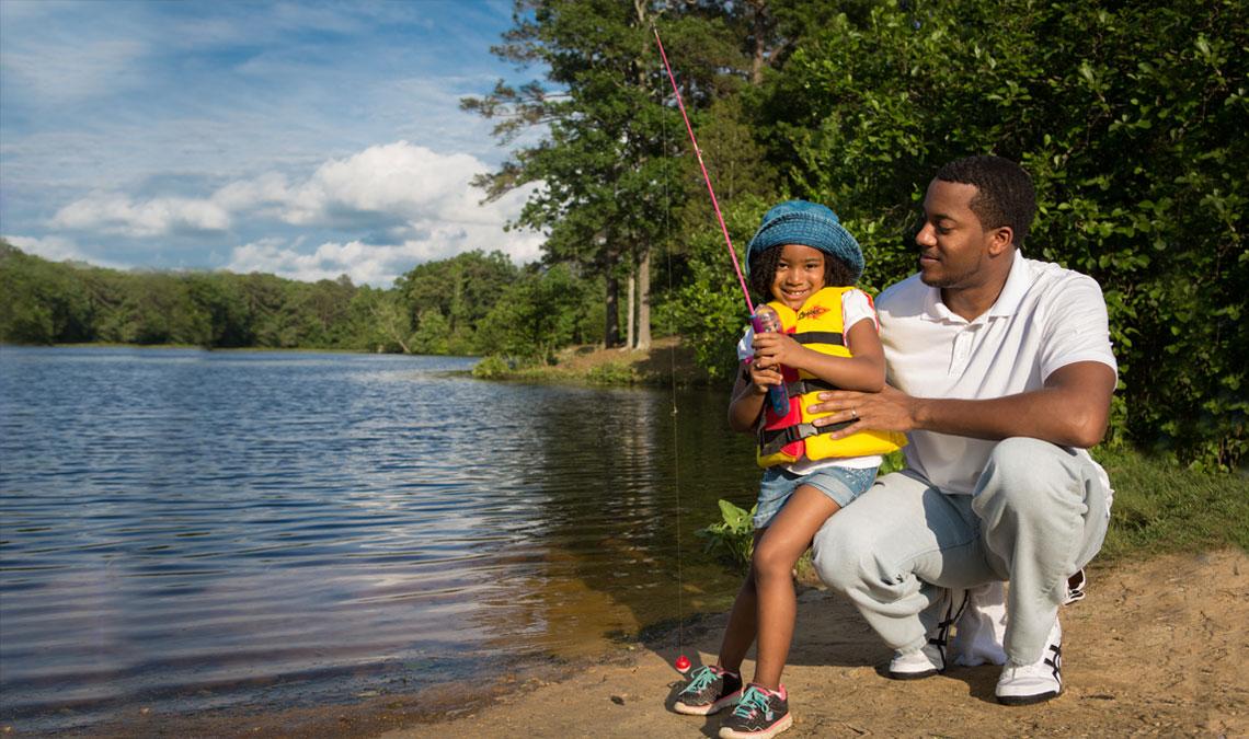 Free Fishing Days: June 1–3, 2018