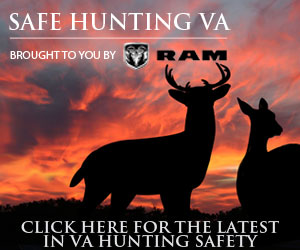 Safe Hunting Virginia. Visit RAM Online.